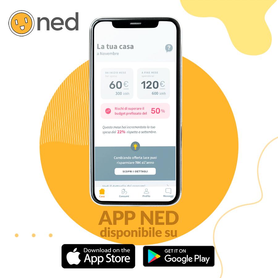 NED, l'app per smartphone che aiuta a consumare meno