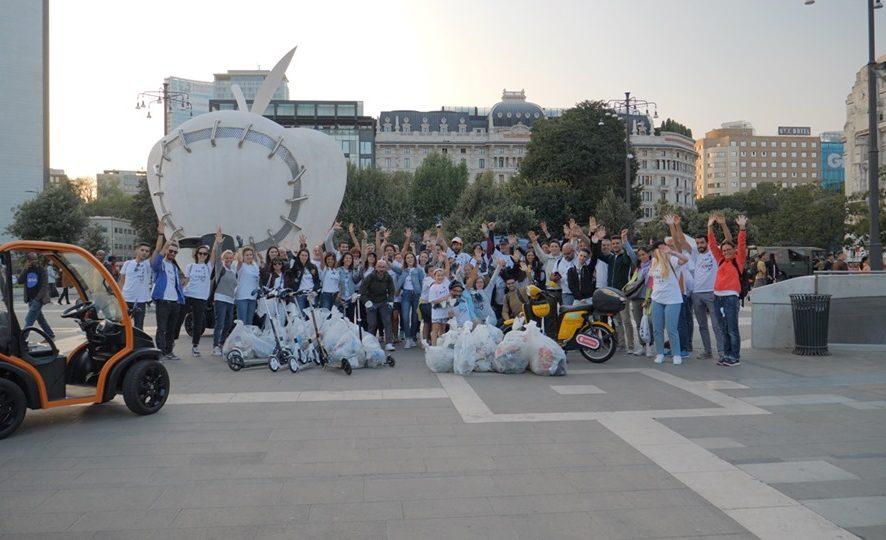 #RACE4CHANGE, a Milano raccolti 40 sacchi di plastica con la gara green delle startup