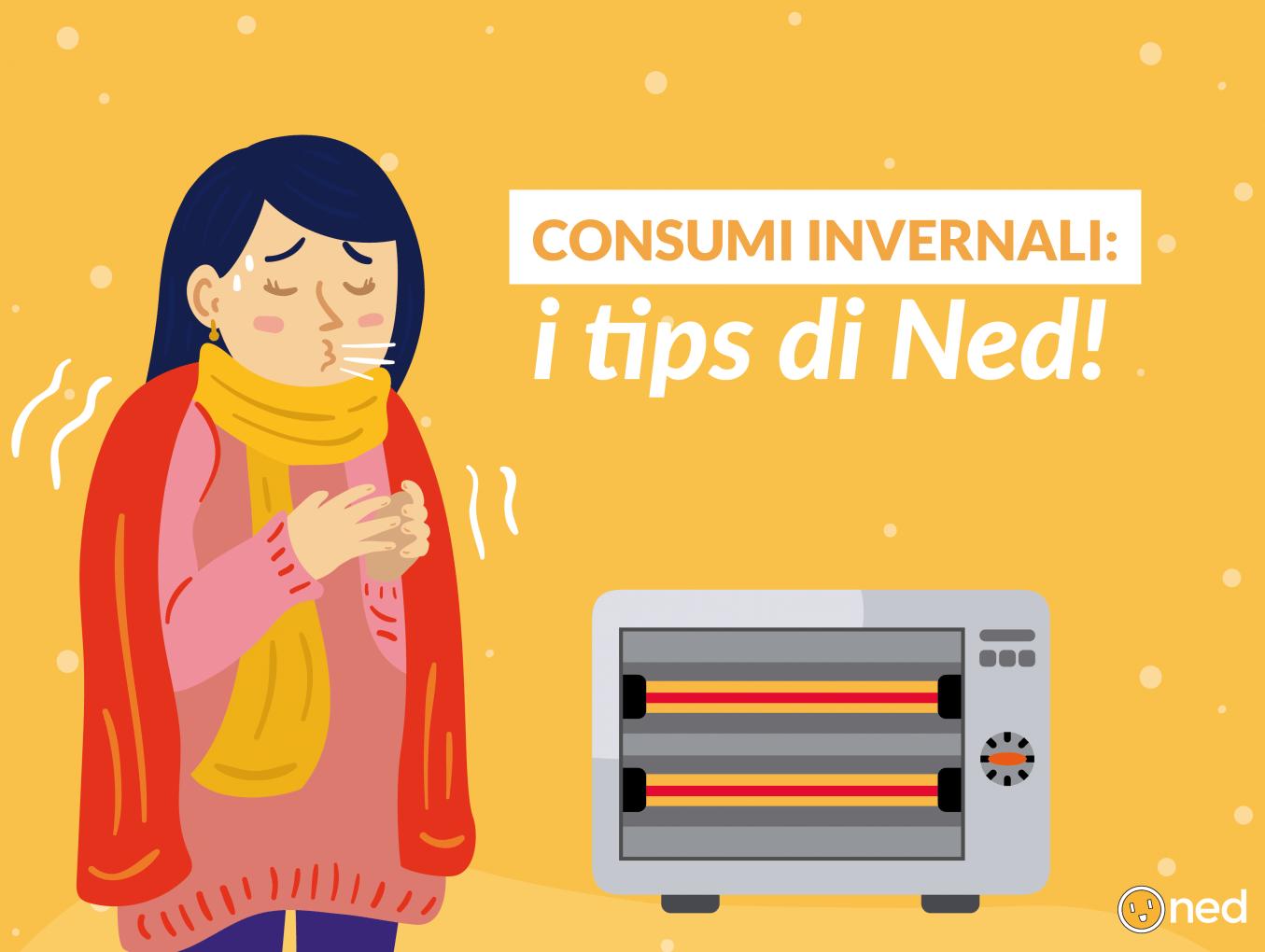 Pompe di calore, stufette e boiler elettrici: ecco chi consuma di più in inverno per NED!